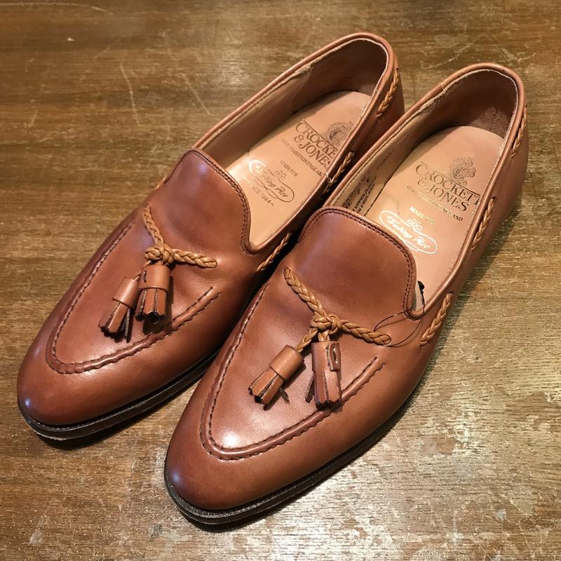 84fd8379fc010 Mikunigaoka shop 261112 RM812H made in CROCKETT&JONES LANGHAM2 tassel  loafer beauty product Langham 2 ...