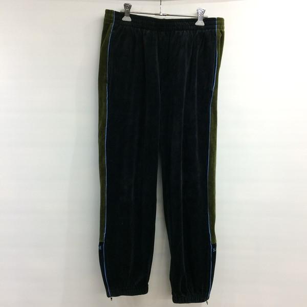 Supreme シュプリーム velour track pants 18aw ベロアパンツ スウェット ブラック カーキ メンズ S 三国ヶ丘店 301993 【中古】 RM881T