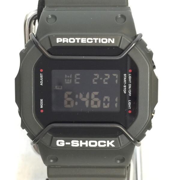 CASIO カシオ G-Shock DW-5600VT × AMERICAN RAG CIE コラボ ジーショック 腕時計 ウォッチ グリーン メンズ 貝塚店 584219 【中古】 RK392J