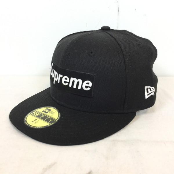 6941a919 7 SUPREME シュプリーム R.I.P Box Logo New Era Cap 16AW NEWERA collaboration cap  hat black black ...