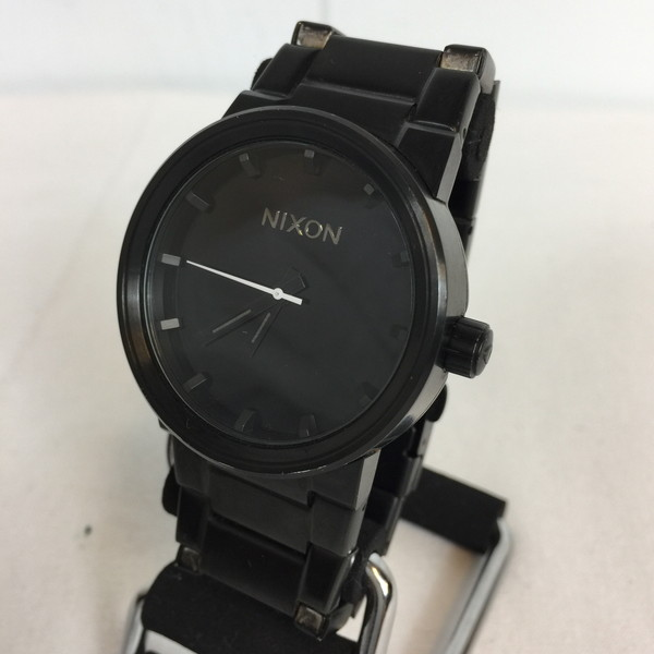 97572739ca6 NIXON Nixon THE CANNON A160001 watch watch quartz black black black  accessory Lady s shell mound store 579759 RK433J