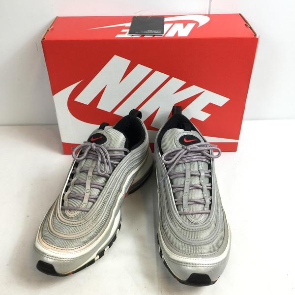 NIKE ナイキ AIR MAX 97 OG OS 884421 001 靴 スニーカー クツ くつ シューズ グレー メンズ VIETNAM製 貝塚店 646290 【中古】 RK501J