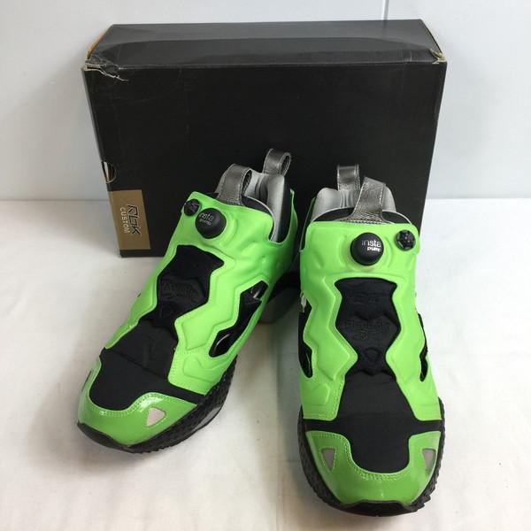 REEBOK リーボック Insta Pump Fury Michael K Green Goblin classic Villains Pack スニーカー グリーン GREEN 緑 靴 クツ くつ シューズ メンズ 28.5cm 貝塚店 646375 【中古】 RK497J