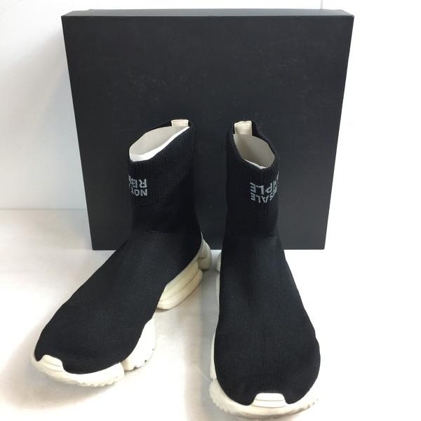 REEBOK Reebok SOCK RUN R CN4742 shoes sneakers white white white black black black shoes shoes shoes men 27cm shell mound store 654158 RK504J