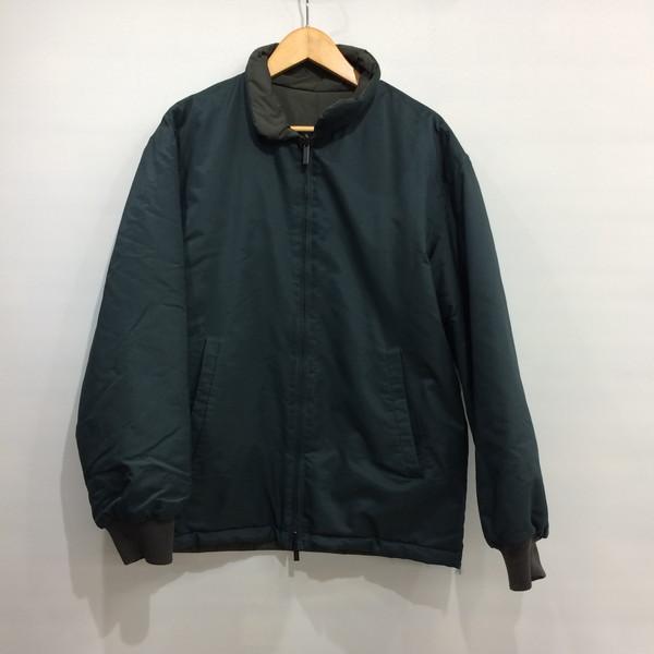 050f9e76f4 Mikunigaoka shop 353275 RM1243T made in Ermenegildo Zegna Ermenegildo Zegna  nylon jacket batting outer jacket reversible khaki men XS Italy