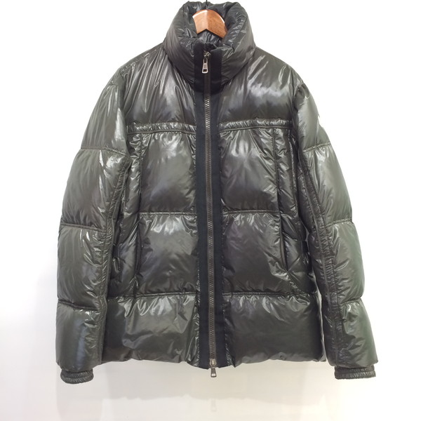 9b7d9c7e3 3 Moncler Monk rail down jacket outer green one point embroidery men  Mikunigaoka store 402294 RM3588