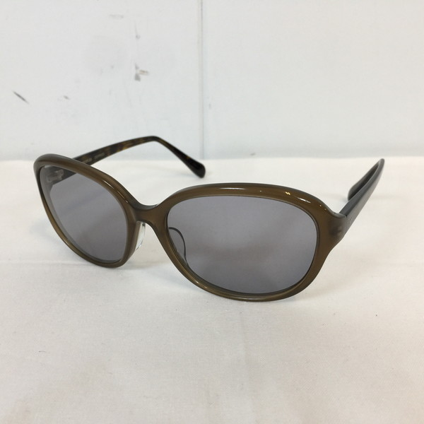 OLIVER PEOPLES オリバーピープルズ ARYSSA サングラス 眼鏡 めがね メガネ ブラウン 茶 brown メンズ 日本製 小物 貝塚店 687910 【中古】 RK620J