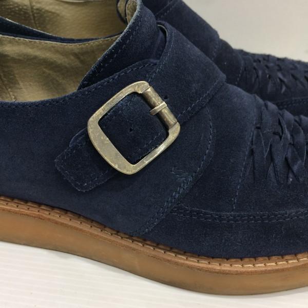 557f5b1fc ... 42 DIESEL diesel loafer shoes sneakers suede navy men Mikunigaoka store  407428 RM1329T ...