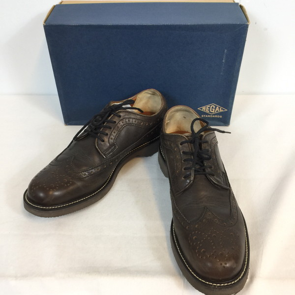 13163c33bfd Shell mound store 697278 RK589G made in 25 REGAL STANDARDS Regal wing tip  toe GN2H 59CR ...