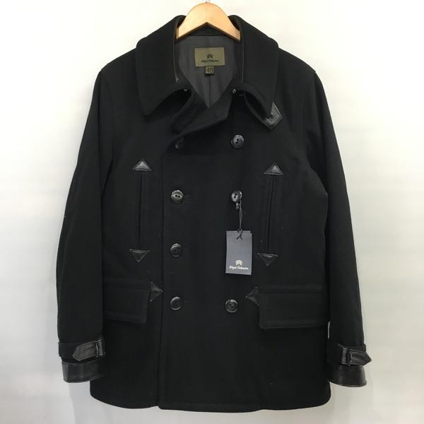 Nigel Cabourn ナイジェル ケーボン Pコート アウター コート ジャケット ブラック メンズ 48 三国ヶ丘店 456075 【中古】 RM1632T
