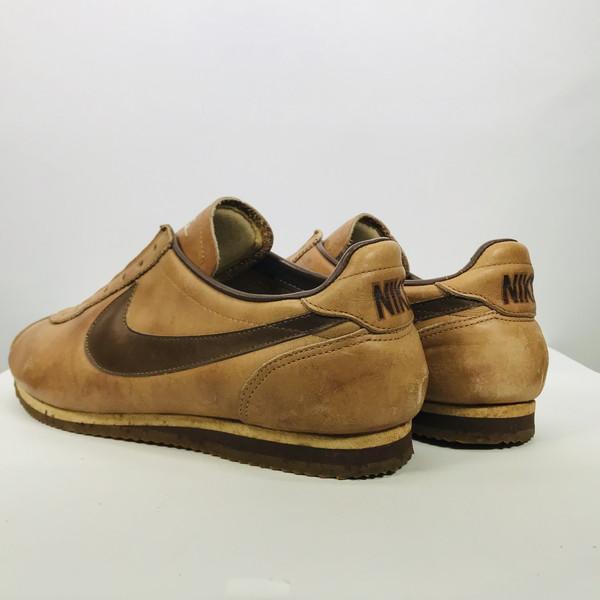 5295f7d2e1a35 Vintage Mikunigaoka shop 489875 RM990H made in NIKE Nike 80's LE VILLAGE  ルビラージュオリジナルコルテッツ rare brown men US7~7.5 Japan