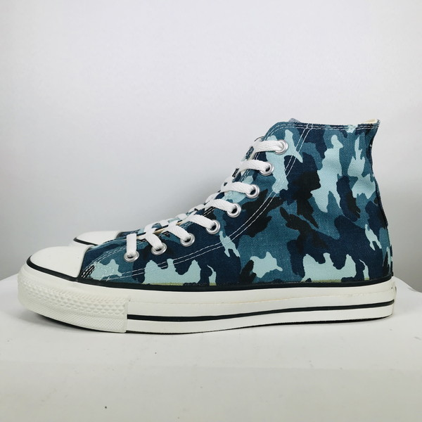 Product made in CONVERSE Converse 90's ALL STAR HI all stars camouflage SKY BLUE CAMOUFLAGE men US8 USA free vintage Mikunigaoka shop 496422 RM995H