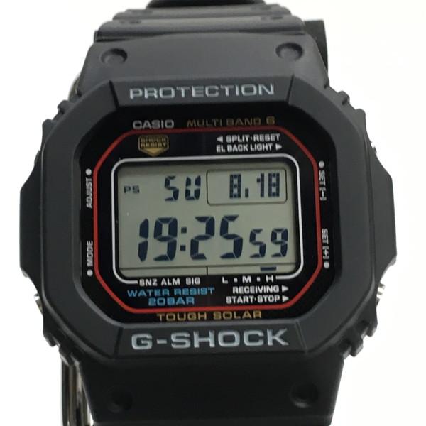 G-SHOCK ジーショック 腕時計 GW-M5610-1JF スクエア デジタル スピードモデル タフソーラー マルチバンド6 ブラック メンズ 三国ヶ丘店 519831 【中古】 RM0198D