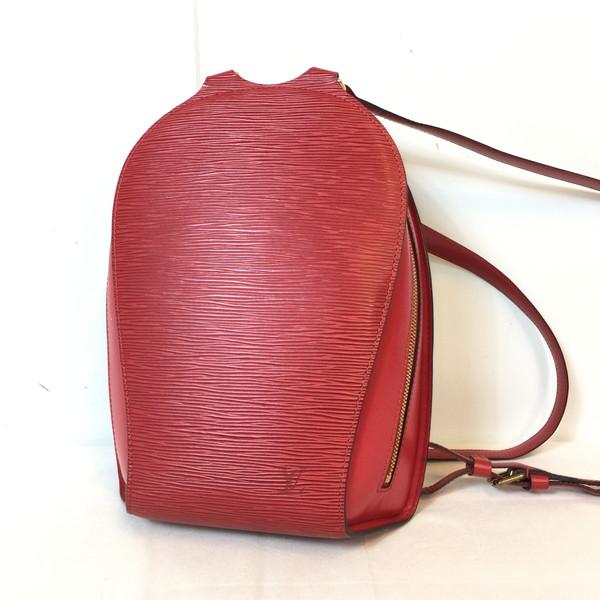 LOUIS VUITTON ルイヴィトン リュック デイパック M52237 マビヨン エピ LV 鞄 レッド red 赤 レディース フランス製 貝塚店 799163 【中古】 RK1108G