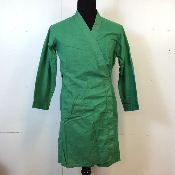 DENNINGER MAKE ブッチャーコート 50s 50年代 butcher coat グリーン green 緑 メンズ MEDIUM アメリカ製 ヴィンテージ 貝塚店 828405 【中古】 RK1347G