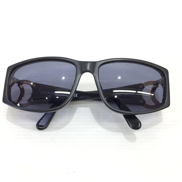 CHANEL シャネル ココマーク サングラス 02461 アイウェア ファッション小物 眼鏡 メガネ ブラック レディース イタリア製 三国ヶ丘店 428188 【中古】 RM0538D