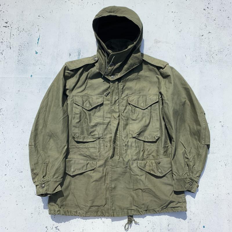 50s U.S.ARMY M-1951 フィールドジャケット フード付 USMC? MC&TSA カーキ メンズ REGULAR MEDIUM USA製 ヴィンテージ 三国ヶ丘店 639577 【中古】 RM1189H