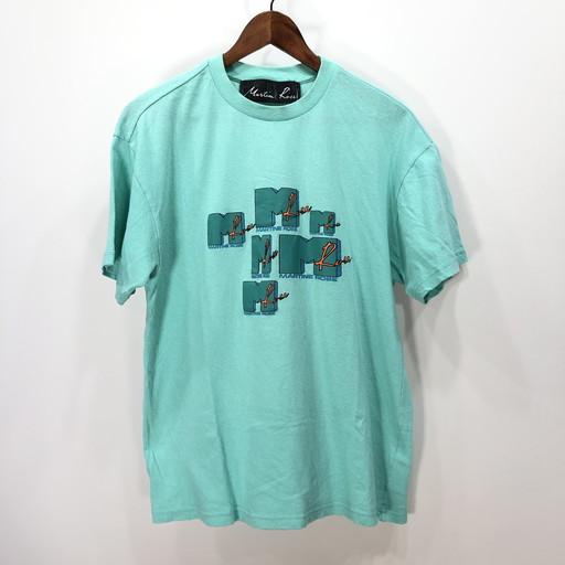 Martine Rose マーティンローズ 18SS MTVプリントTシャツ カットソー TEE T-shirt トップス ミントグリーン メンズ S ポルトガル製 三国ヶ丘店 590502 【中古】 RM0874I
