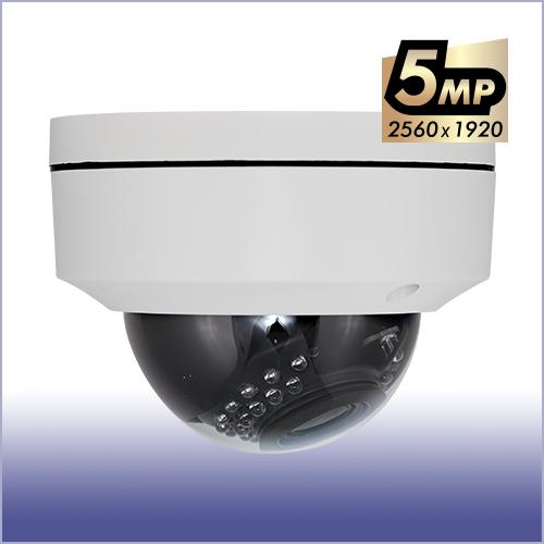 防犯カメラ AHD5MP オートフォーカス 屋外防滴ドームカメラ
