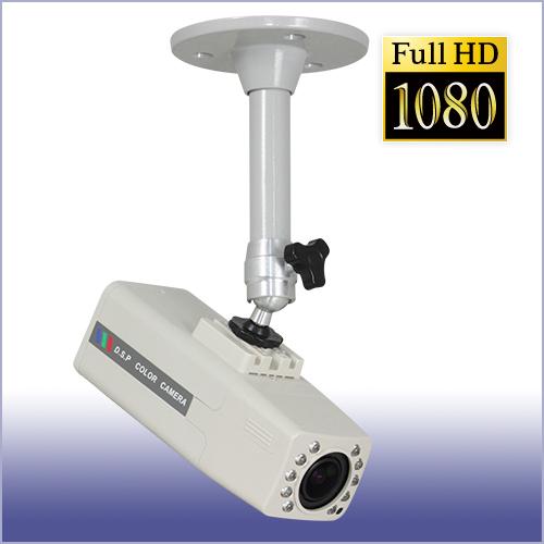 防犯カメラ AHD2.0/アナログ兼用 屋内レンズ一体型赤外線ボックスカメラ