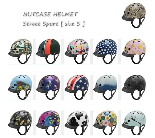 NO1ポイント10倍【送料無料】NUTCASE HELMET ストリート 大人用ヘルメット Sサイズ [ 大人用 ヘルメット ナットケース bernバーン好きな方にもレインボーRAINBOW
