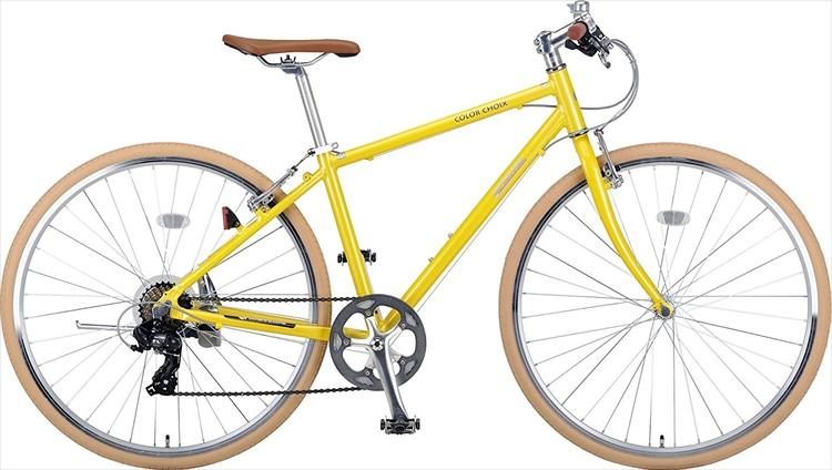 キャプテンスタッグ クロスバイク 700C ×32C シマノ SHIMANO 7段変速 カラーショワ CAPTAIN STAGYG-994 レッド YG-995 イエロー YG-996 グリーン YG-997 ホワイトCAC