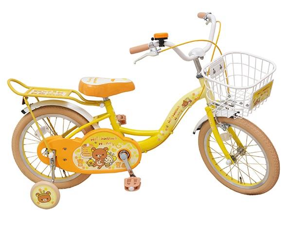 台数限定 子供用自転車 16インチ 自転車 子供用自転車 1404 リラックマ San-X Rilakkuma コリラックマ キイロイトリ サンエックス 16 補助輪付 M&M(エムアンドエム)プレゼント  子供 元★