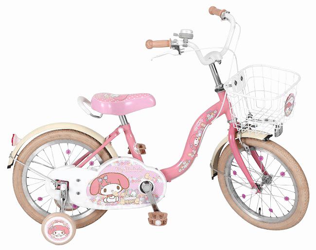 子供用自転車 16インチ マイメロディ 16 キッズ幼児用自転車 こども用自転車  女の子 MM (1252)プレゼント 可愛い 子供