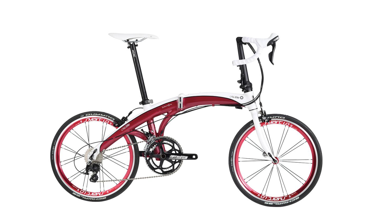 喜爱礼物3分DAHON 2016 Mu Elite Shimano 105 22段折叠自行车礼物的小孩