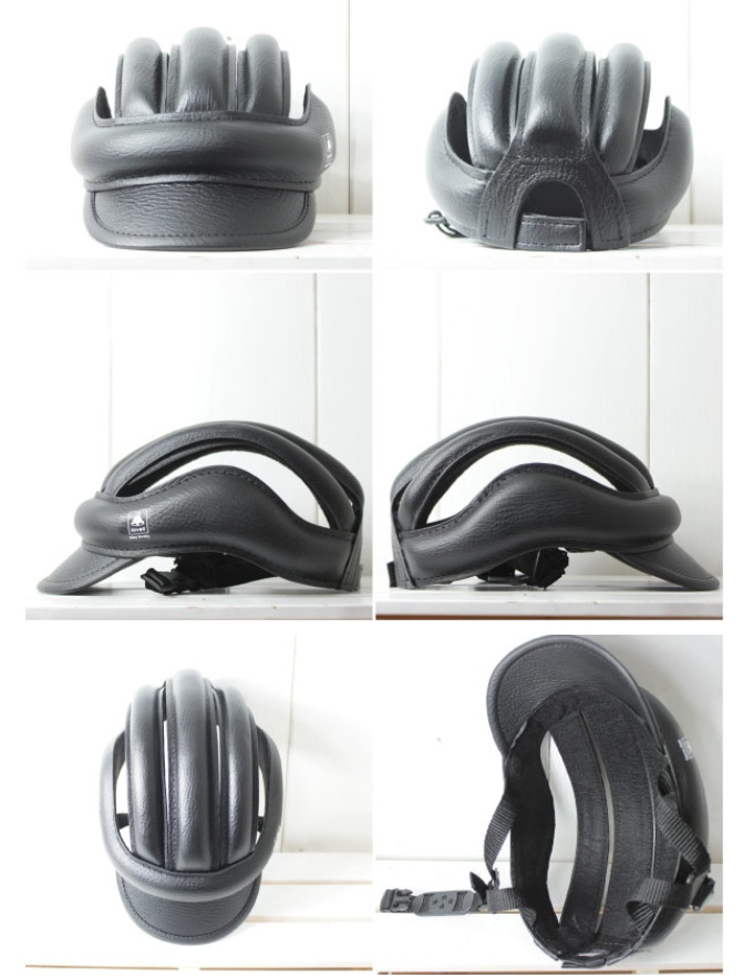 lovell label fashionable helmet cash CASQUE has a bit of casual hats-bicycle helmet easy size adjustment adult children