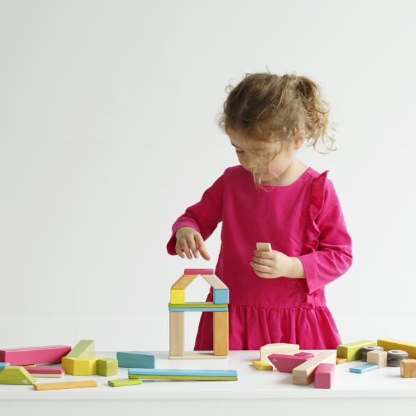 【ポイント10倍】tegu マグネットブロック 42ピース ティント 磁石入り積み木 木製 ブロック テグ【DADWAY 正規代理店】 プレゼント 可愛い 子供 ベビー