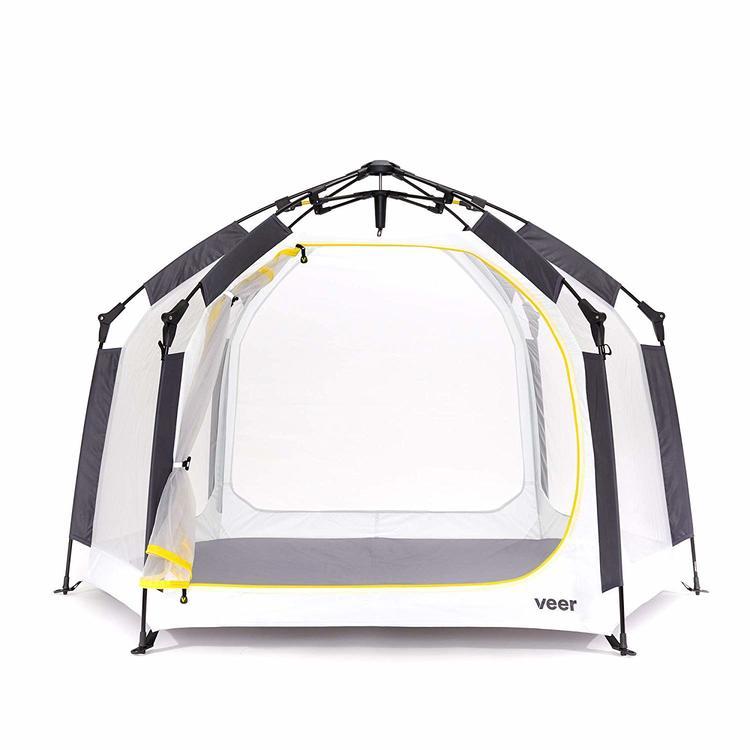 VEER ベースキャンプ ポータブル キッズプレイヤード 軽量 コンパクト テント 組立不要 UVカット ヴィア Comfort Seat for Toddlerys未