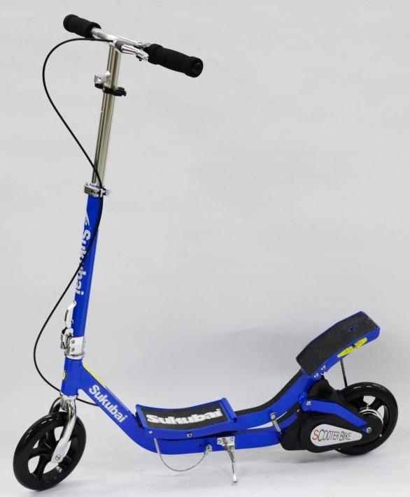 送料無料 マルチスピードスクーターバイク ( SUKUBAI ) SRP-07 スピード調整可 子ども用 子供用 キッズ用 大人用 キックボード キックスクータ JDRAZOR ジェイディレーザー スケボー