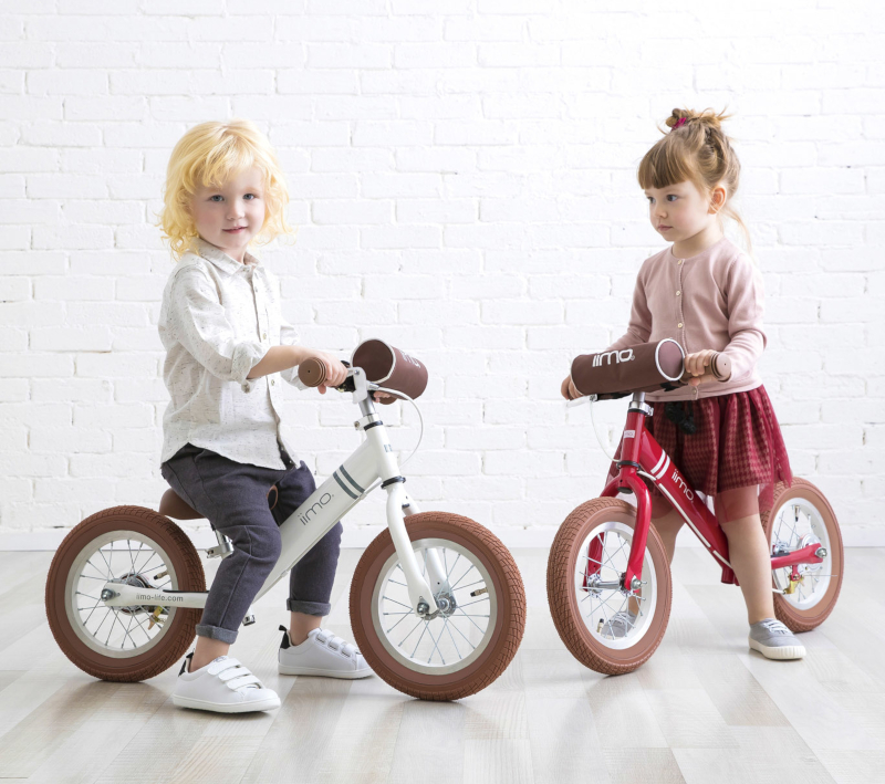 2020年アルミフレーム採用!ポイント5倍 新モデル iimo キックバイク ポシェットプレゼント 【リアブレーキ付!安心・安全】 12インチ アルミ 軽量 バランスバイク ランニングバイク トレーニングバイク イイモ イーモ