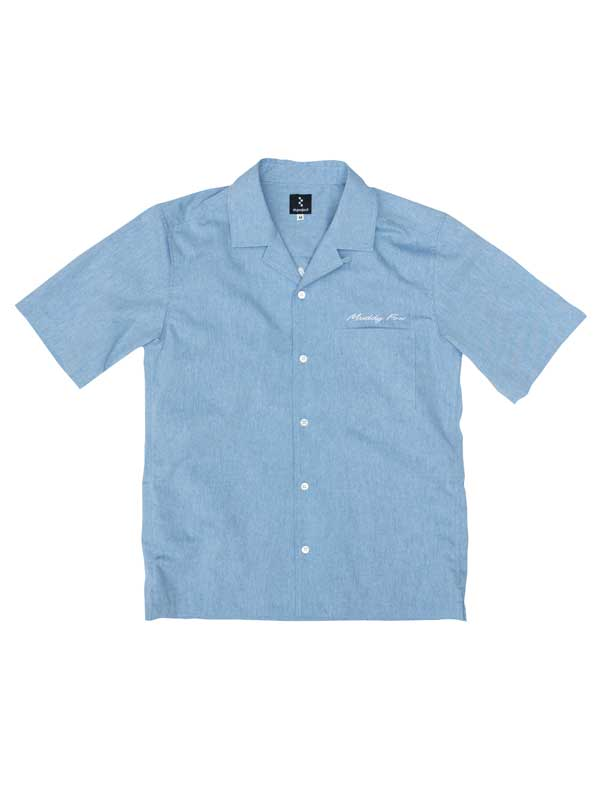 【Muddy Fox ワークシャツ】日本初量産MTBとコラボ 吸汗速乾 背ポケット 日本製 No.AR001 ARAYA リンプロジェクト rin project 【クイックポストにて送料無料】