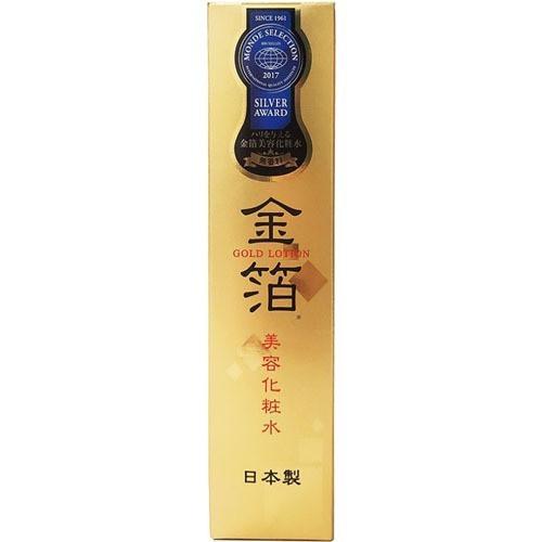 商舗 爆売り ハリを与える金箔美容化粧水 ナヴィス ゴールドローション 100ml lotion 日本製 gold