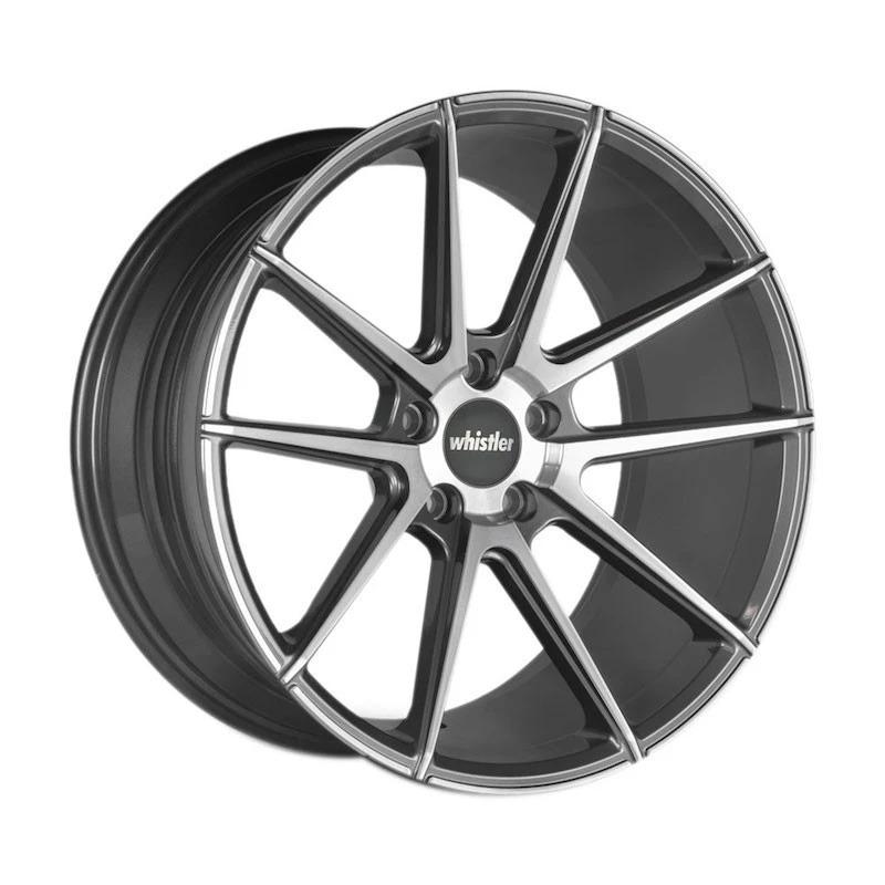 新作人気 Whistler KR10 アルミホイール 4本 19インチ 9.5J R35 PCD5×114.3 19インチ KR10 MGM GT-R R35, アイラグン:9c0bbe22 --- stopbyramen.com