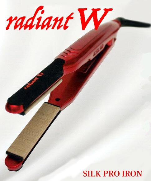 シルクプロヘアアイロン W radiant ラディアント【ウェーブ用・ストレート用】