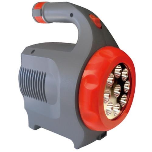 LEDガードマン TM-50 充電式サーチライト ランタン バッテリーサーチライト ケータイ携帯充電 非常用