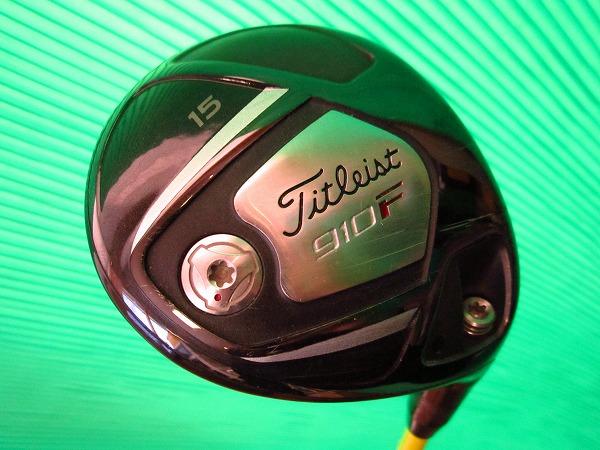 【中古】 ゴルフクラブ Titleist タイトリスト フェアウェイウッド 910F 3W 15度 ATTAS アッタス3 (6S) クラブ傷状態:通常使用 【メンズ】 05P05Nov16