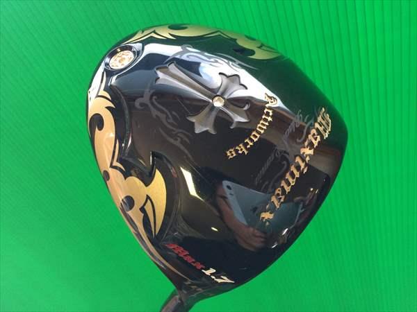 アクトワークス マキシマックス ブラックプレミア MAX1.7 10.5度 ドライバー 超高反発モデル 純正カーボン 【R】 ワークスゴルフ