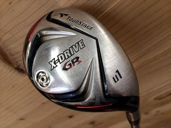 ブリヂストン ユーティリティー TOURSTAGE X-DRIVE GR2012 U1 17度 カスタム品 KBS TOUR S メンズ 中古 ゴルフクラブ