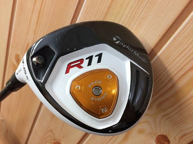 【中古】 R11 レフティ 3W 15.5度 フェアウェイウッド 純正カーボン S テーラーメイド