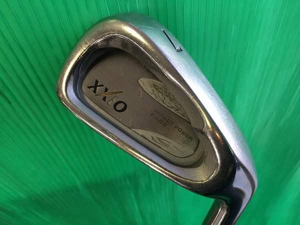 ダンロップ アイアン XXIO 2002 純正カーボン R 5~P A 7本セット メンズ 中古 ゴルフクラブ