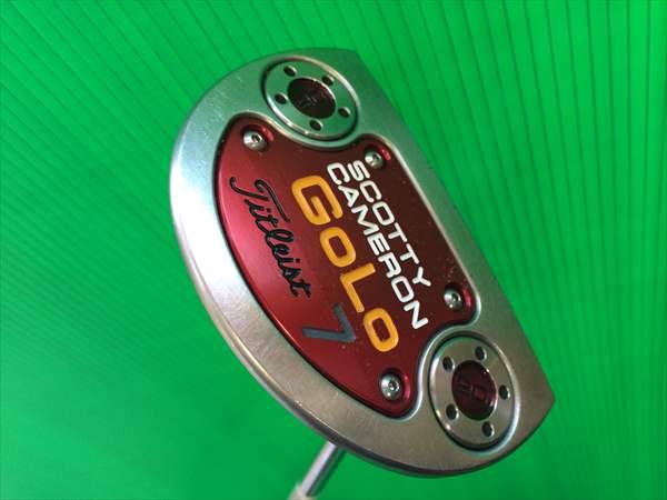 スコッティーキャメロン セレクト ゴーロー7 GoLo 7 パター タイトリスト 34インチ メンズ 中古 ゴルフクラブ