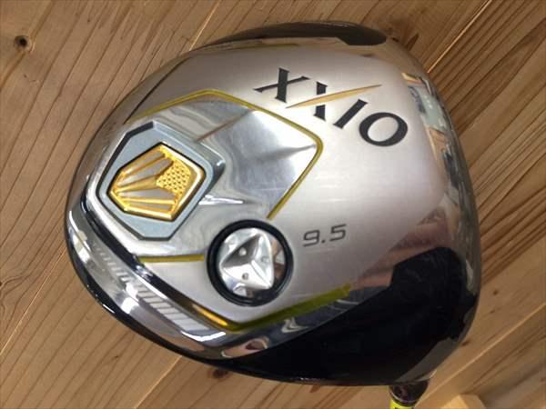 ダンロップ ドライバー XXIO2014 カラーカスタムイエロー 9.5度 メーカーカスタム品 TourAD MT-6S S メンズ 中古 ゴルフクラブ