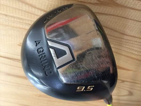 【中古】 Aデザインゴルフ ドライバー A GRAIND エーグラインド 9.5度 カスタムシャフト ATTAS PUNCH アッタス パンチ 6X