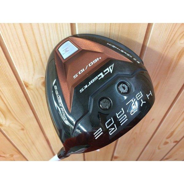 【中古】 アクトワークス ハイパーブレイド 10.5度 ドライバー 純正カーボン R ワークスゴルフ