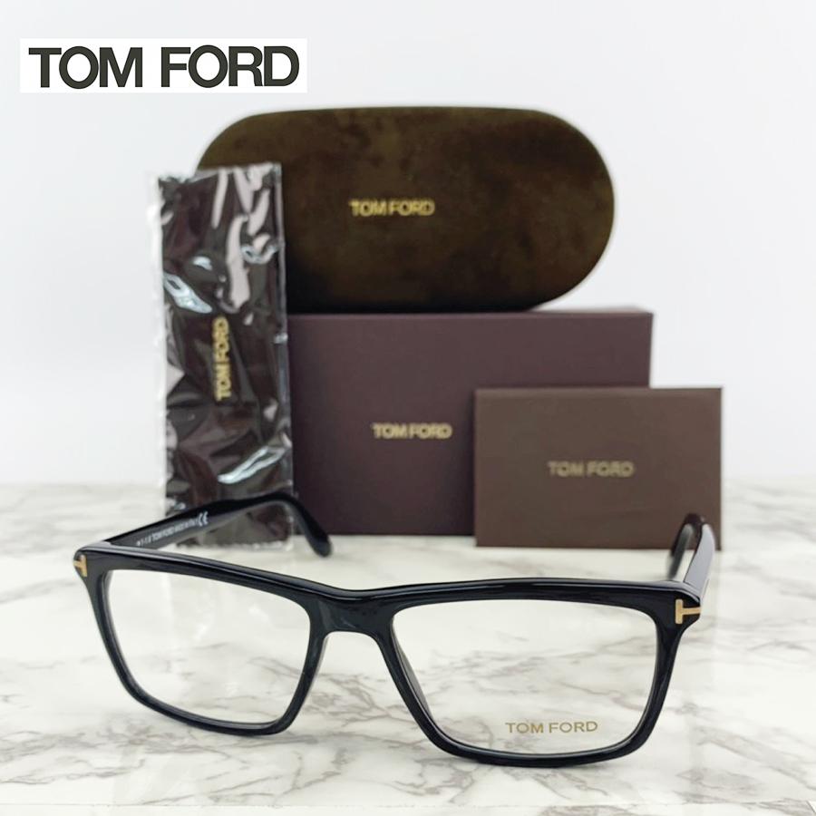 【送料無料】TOMFORD TOM FORD トムフォード メガネ 眼鏡 TF5407 FT5407 001 ユニセックス メンズ レディース 男性 女性 セレブ