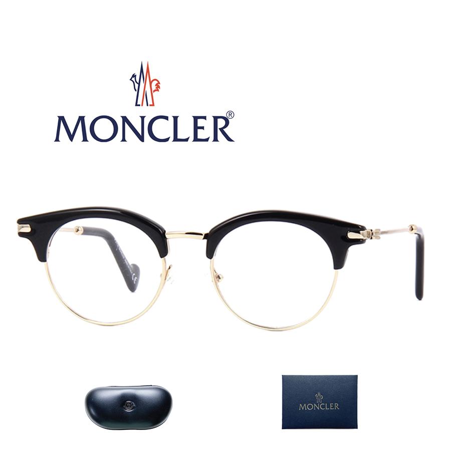 【並行輸入品】レンズ加工無料 MONCLER モンクレール メガネ 眼鏡 ML5020 ユニセックス メンズ レディース 男性 女性 セレブ 送料無料 海外直輸入USED品